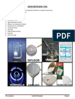 Psicoalquimia - Agua Destilada y Sal
