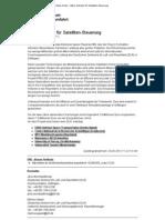 Mikro-Antriebe für Satelliten-Steuerung