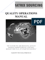 51 Matrix Quality Manual Jan 2010