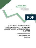 Estrategias Politicas Seguridad Aliment Aria ALatina GrazianoDaSilva