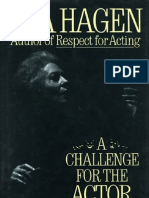A Challenge for the Actor by Uta Hagen