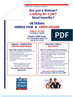 VA Hiring Fair Detroit 26-29 June 12