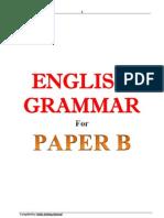 BA English Paper B