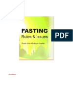 Fasting-Rules and Issues by Mufti Hafiz Sayyed Ziauddin Naqshbandi Qadiri Sahab