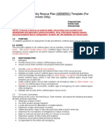 Confined Space _Generic_ Rescue Plan Template[1]