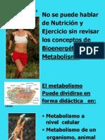 Ejercicio y metabolismo