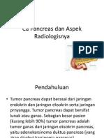 CA Pancreas Dan Aspek Radiologisnya