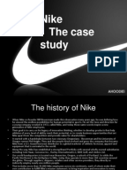 nike case summary Full-text (pdf) | this report is all about to show a marketing plan for nike's products with reference to older offerings the report shows the plan that how can nike offer new products in the market with respect to this the report contains comprehensive marketing plan components including compan.
