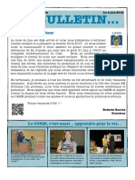 Bulletin du CAHM de juin 2012