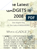 The Latest GADGETS in 2008
