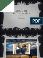 Álbum de fotografías de alexandra