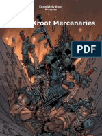 5th Ed Kroot Mercenaries Army List by Kompletely Kroot V5.86