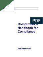 Comptrollers Security Handbook CHCompliance200Comptorollers 7