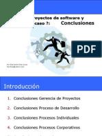 Conclusiones - Como Desarrollar Proyectos de Software y Evitar El Fracaso 1.1