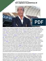 Bari, Ventura_ Non Capisco La Polemica Di Gasperini _ CalcioLine