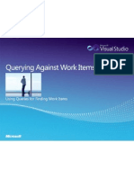 Querying Against Work Items