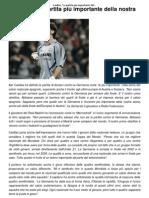 """Casillas_ """"La partita più importante della nostra storia"""" _ CalcioLine"""