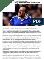 Chelsea_ John Terry Chiede Soldi Ad Abramovich _ CalcioLine