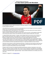 Fabregas_ Deciderò il mio futuro prima del Mondiale _ CalcioLine