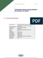 Airway Security Guideline Jan06 v Rnsh