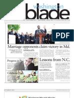 Washingtonblade.com - Volume 43, Issue 22 - June 1, 2012