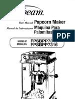 Sunbeam Popcorn Maker FPSBPP7310 FPSBPP7316