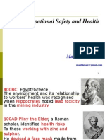 History of OSH