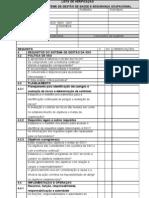 Check List OHSAS 18001
