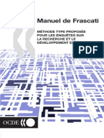 OECDFrascatiManual02_fr