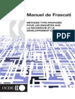 OECDFrascatiManual02_fr