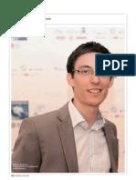 Interview Stéphane Rousselet - Vice Président de Youth Diplomacy - Par Daouda Mbaye pour les Afriques