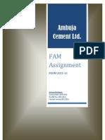 FAM ASSIGNMENT10