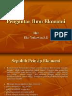 01. 10 prinsip ekonomi