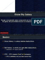 Know Thy Salary
