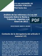 Reforma a La LISR 21-12-11