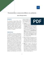 2558290 Traumatismo Craneoencefalico en Pediatria TCE