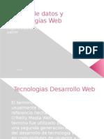 Bases de datos y tecnologías Web
