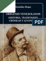 Arístides Rojas_Origenes-venezolanos