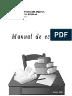 Manual de Estilo UASB