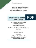 PROJECTO TAREA - Software Educativo