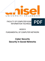 Security in Social Networks