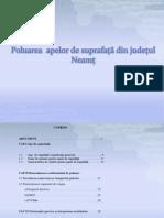 Poluarea  apelor de suprafață din județul Neamț
