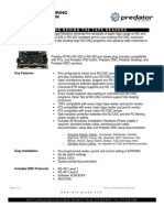 Tape Reader Btr Spec Sheet