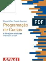 Web Programacao de Cursos 1-Sem-2011