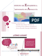 Trabajo Instituto de Estadística y Cartografía de Andalucía