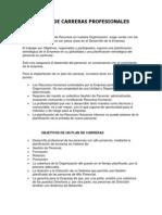 DISEÑO DE CARRERAS PROFESIONALES