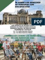 CONVENCIÓN SOBRE LOS DERECHOS DE LAS PERSONAS CON