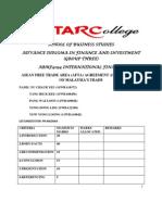 Final Report International Finance