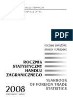 Rocznik Statystyczny Handlu Zagranicznego 2008r