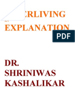 Super Living an Explanation Dr Shriniwas Kashalikar